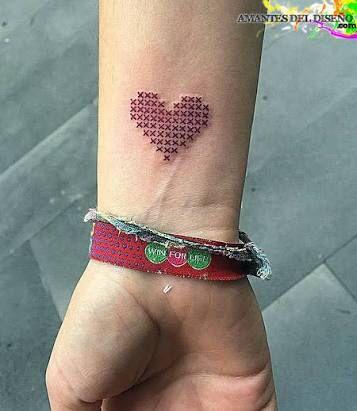 Tattoo punto de Cruz