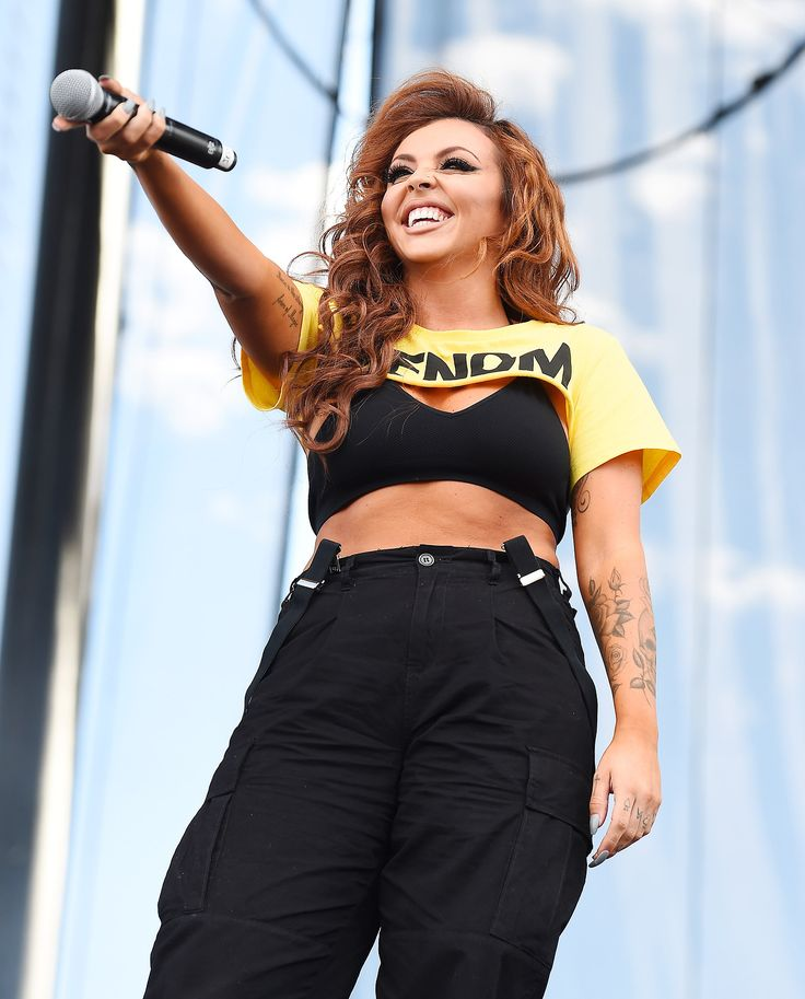 Jesy performing at iHeartRadio Music Festival in Las Vegas -23/09/2017