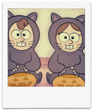 Dipper and Mabel's costumes