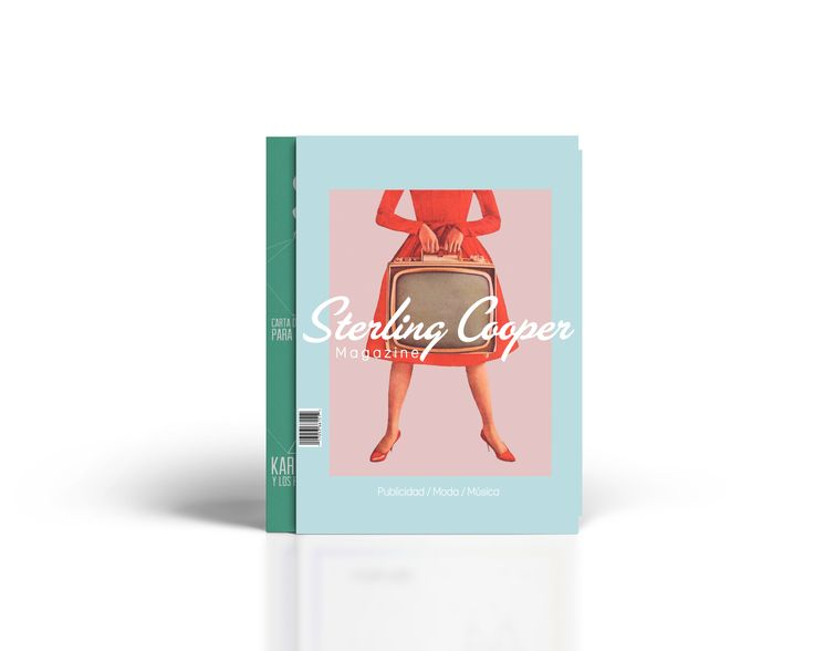 Diseño de portada de revista. Sterling Cooper