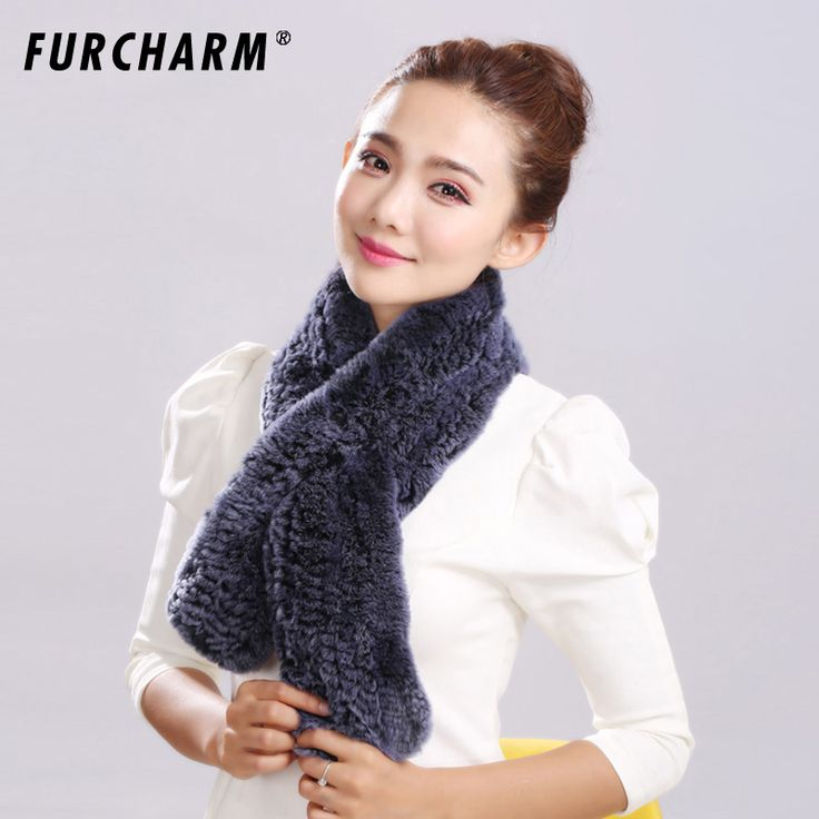 ==> [Free Shipping] Buy Best 2016 New genuine fur scarves quality Rabbit fur scarf for women wholesale retail with free shipping Rex Scarves Online with LOWEST Price | 32735546291