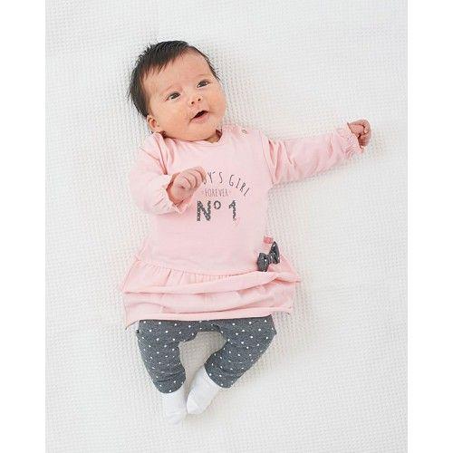 Feetje Jurk + legging Daddy's Girl (2 dlg)  Meisjes jurk Direct leverbaar uit de…