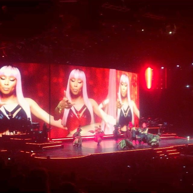Madonna & Amy Schumer performed on Saturday at Barclays Center