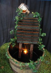 Bourbon Barrel Fountain Noteworthy Wine Odds Ends Pinterest And