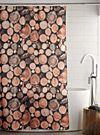 Logs shower curtain | Simons Maison | Shop Fabric Shower Curtains Online in Canada | Simons