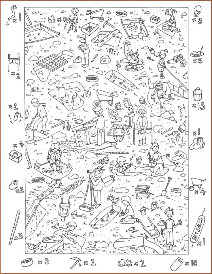and find coloring pages - photo#2