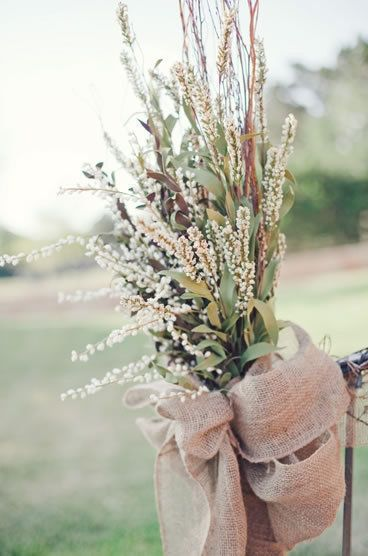 Rustic wedding decor {Photo by The Nichols}