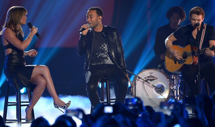 Jennifer Nettles, John Legend, Hunter Hayes