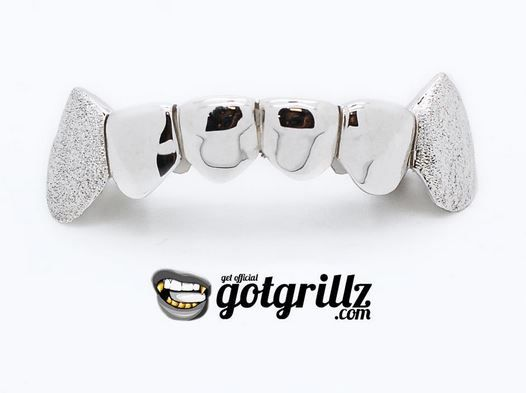 Looking to buy 10K and 14K white gold grillz in Texas? If so, visit www.GotGrillz.com for hip-hop inspired grillz at a fraction of the cost. We have #white #gold #teeth grillz in different styles to suit your wardrobe and budget.