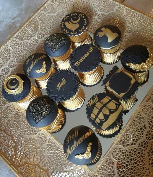Hajj Mubarak cupcakes | Eid baking, Cupcakes, Wedding cupcakes