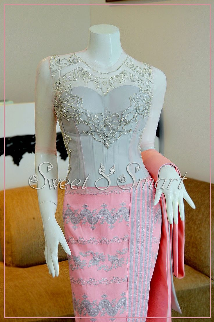Another grey and pink pretty dress from sweet&smart