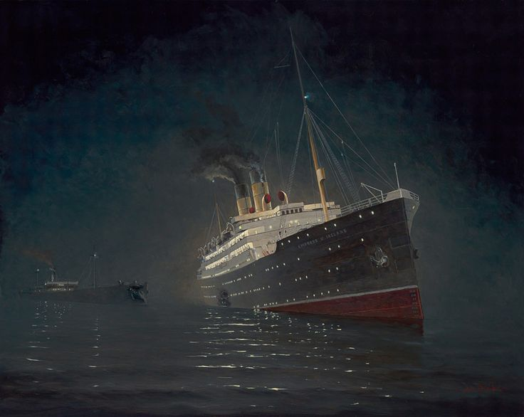 Sinking of the Empress of Ireland  © 2014 Yves Bérubé The sinking of the Empress of Ireland is a maritime disaster in the night of 28 to 29 May 1914 on the St. Lawrence River, off Sainte-Luce.