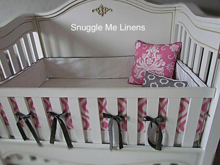 Full bumper to fit this unusual but beautiful square cot #snugglemelinens