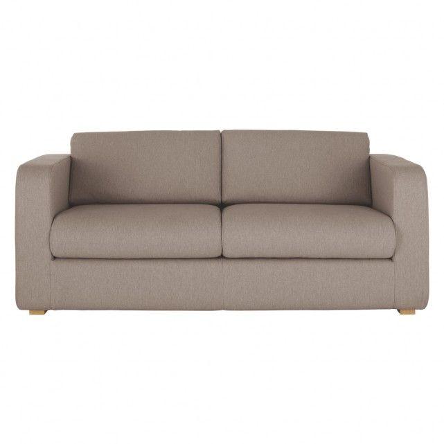 PORTO Natural fabric 3 seater sofa bed | Buy now at Habitat UK