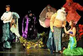 The Little Mermaid!  Musical Play for Kids!