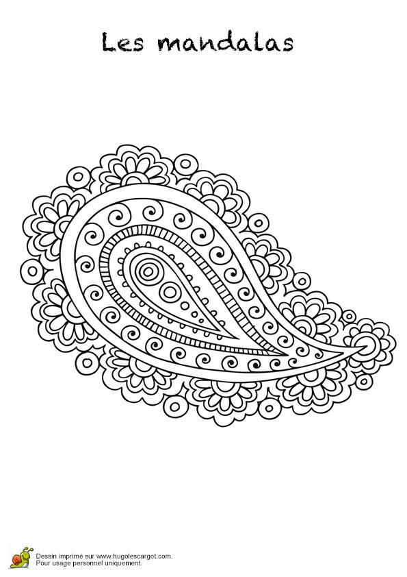 17 best images about mandalas on pinterest coloring - Hugo l escargot mandala ...
