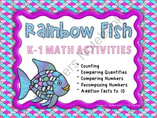 33 best images about Rainbow Fish Friendship activities on ...