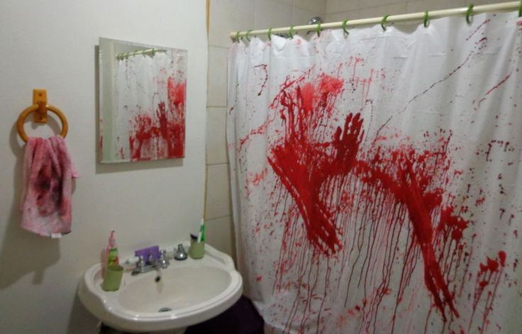 15 infartantes maneras de decorar tu ba o este halloween for Cosas para decorar el bano