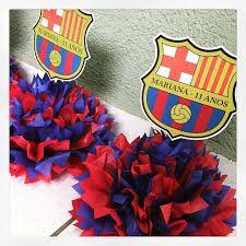 Resultado de imagen para centro de mesa del barcelona