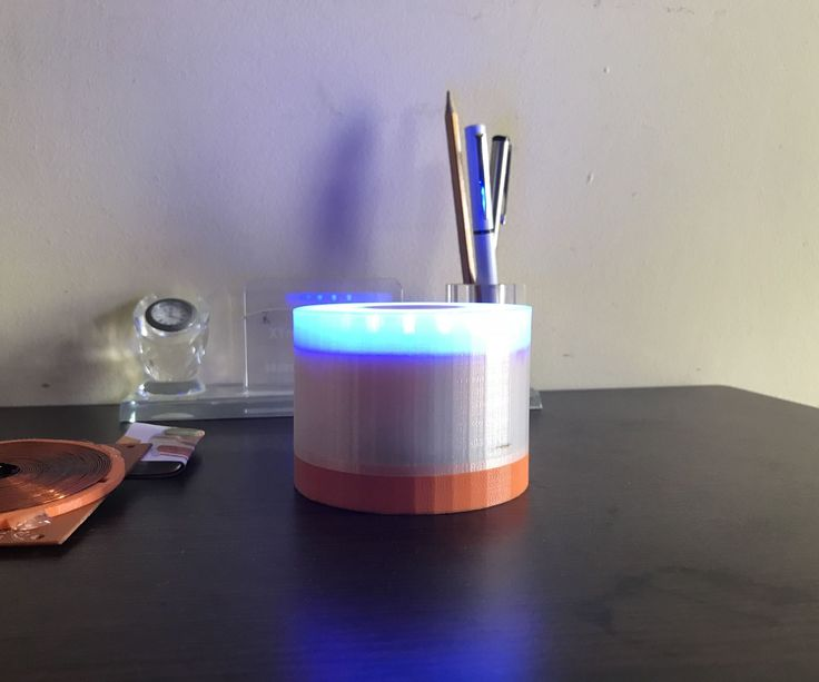 Led lamps are cool especially when you made yourself one. I designed a 3D printed multicolor LED lamp using Neopixel LED ring with ultra bright white LED. The lamp...