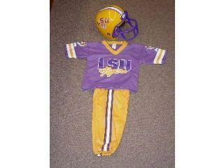 Franklin Sports LSU Youth Football Uniform
