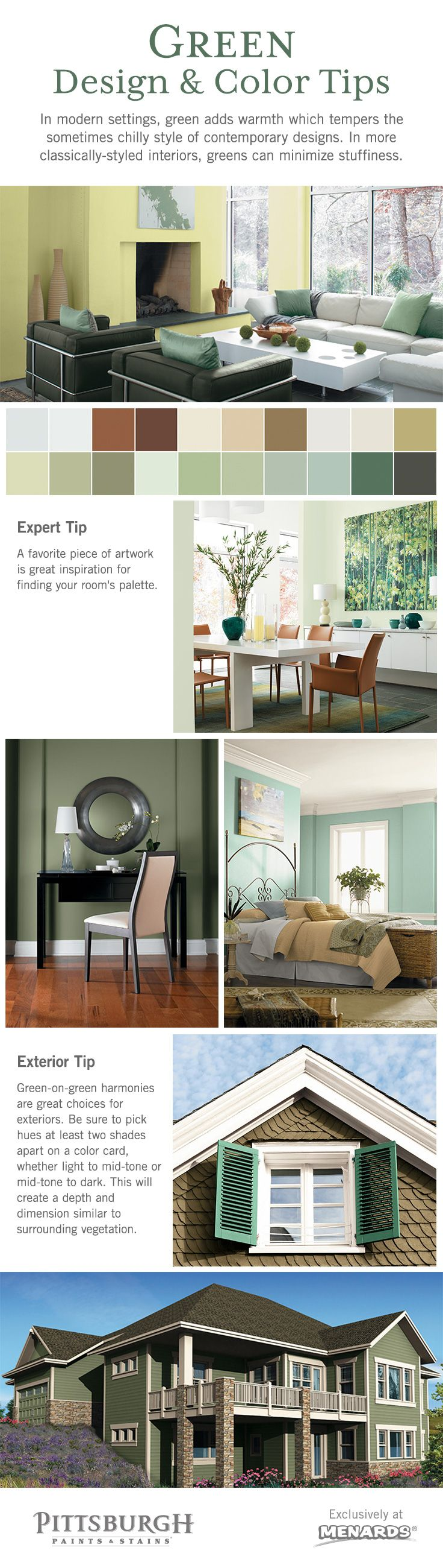The Book Of Green Paint Colors Will Guide You On Your Journey Into The  World Of Exterior U0026 Interior Paint Colors.