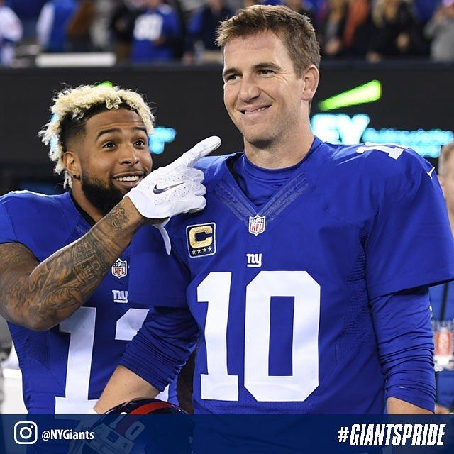 Eli, look! The #Giants have won five games in a row!!!