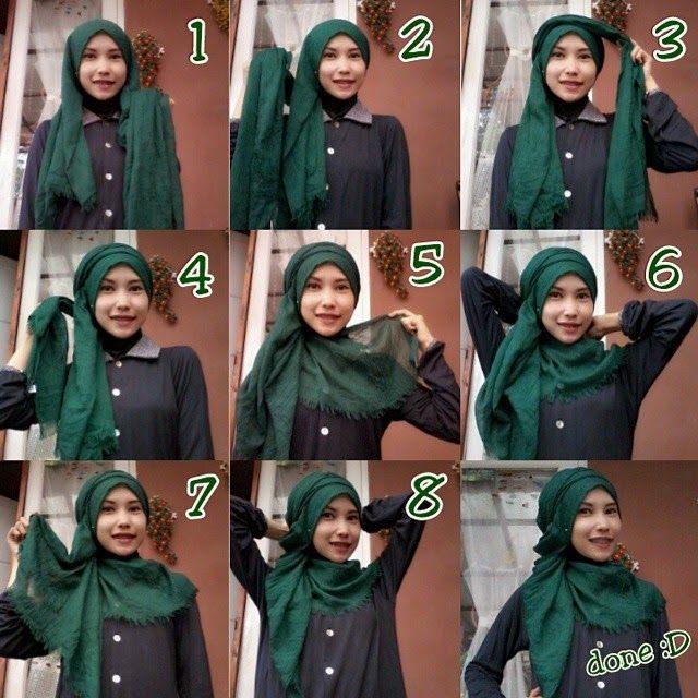 My Sweet Escape: Stylish Hijab Tutorial