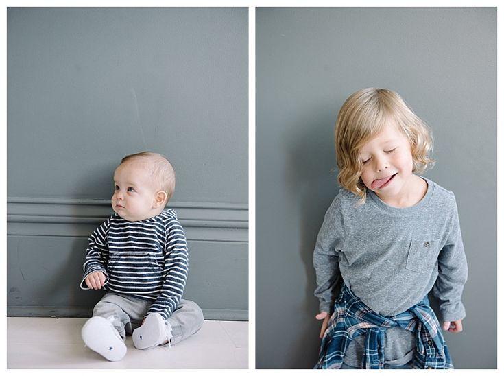Funny faces during family photo shoot  | Utah Family Photography | Brooke Bakken