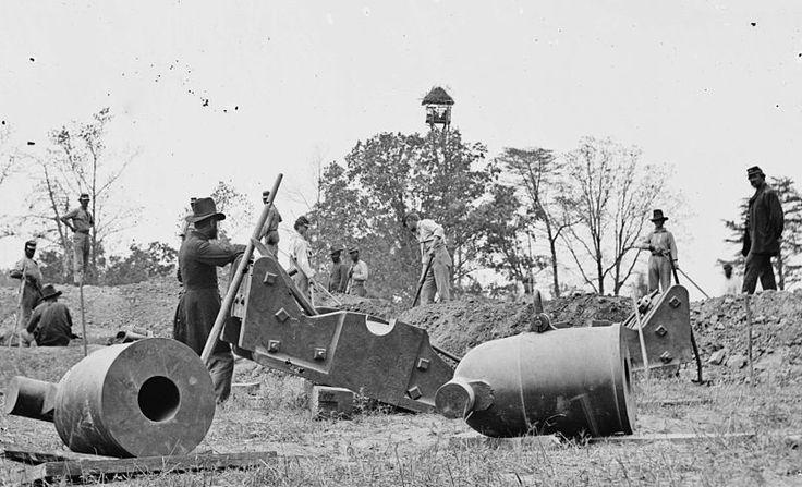 10-inch seacoast mortars, Model 1841 - Siege artillery in the American Civil War - Wikipedia, the free encyclopedia