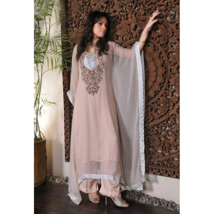 Light Tea Pink Chiffon Party Special Dress Contact: (702) 751-3523 Email: info@pakrobe.com Skype: PakRobe