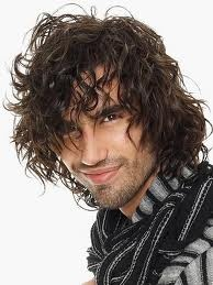 "long curl ""wild""  curly hair men long hair styles men"