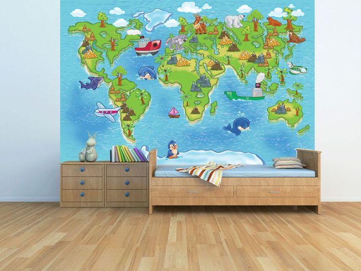 Fototapeta z mapą świata:  http://ecoformat.com.pl/fototapeta-dla-ucznia/