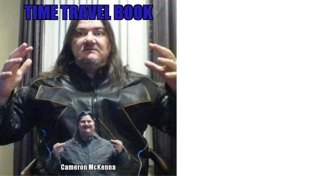 Canada cameron mckenna time travel book