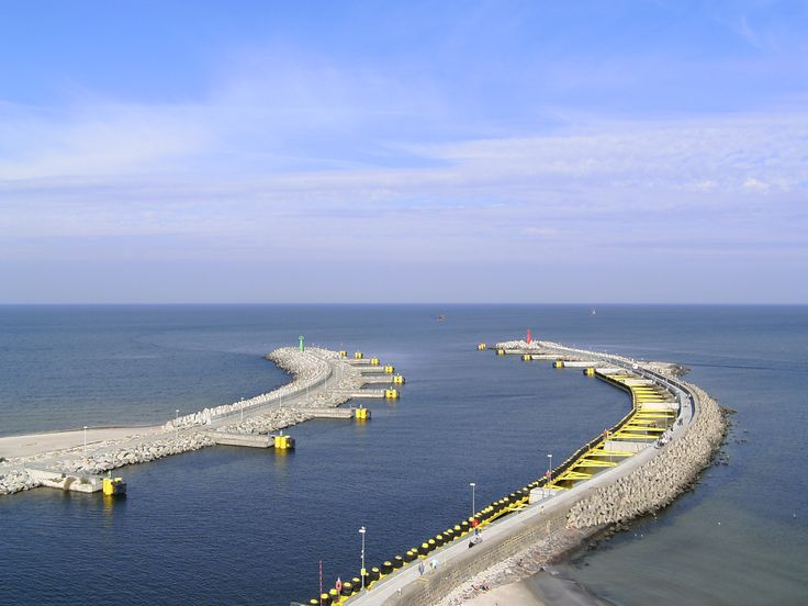 #Kolobrzeg - widok z latarni 2 - 100 km wybrzeżem Bałtyku - http://www.turisticus.pl/100-km-wybrzezem-baltyku-relacja/