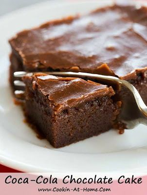 Coca-Cola Chocolate Cake - Cooking at Home