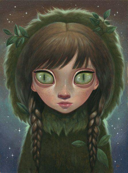 Ana Bayagan. The Tree Spirit