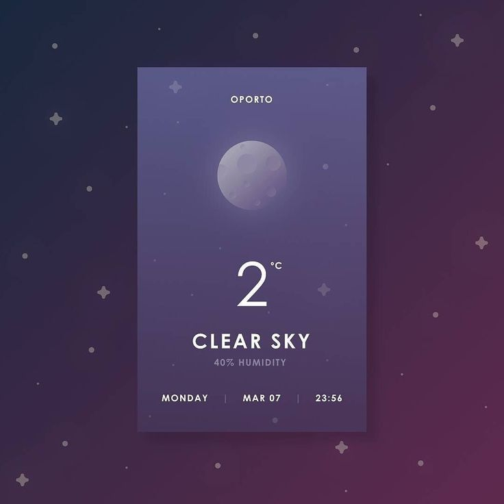 Day #037 of Daily UI - Weather. by instagram.com/davidjnf