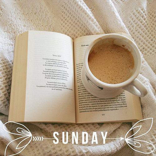 Domingo...Dar gracias a Dios...tomar una tazita de cafe y leer un buen libro...Ahhh eso si es vida, jiji ;-)