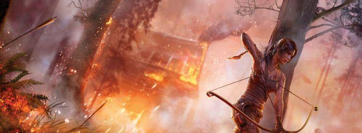 Tomb raider 2013 game facebook cover
