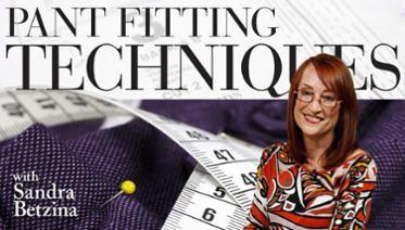 Pant Fitting Techniques