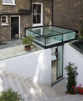 Wallace Road II House Extension in London, England by Paul Archer Design. Toooo clever!