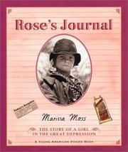 Cover of: Rose's Journal by Marissa Moss