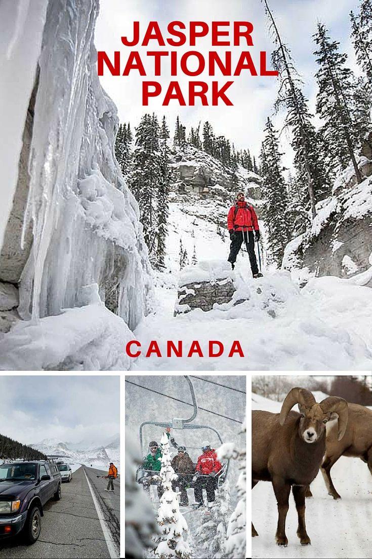 The wonder of Jasper National Park in winter #explorecanada