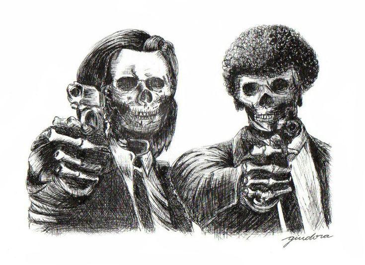Pulp Fiction, Giu Dora on ArtStation at https://www.artstation.com/artwork/lyzEk