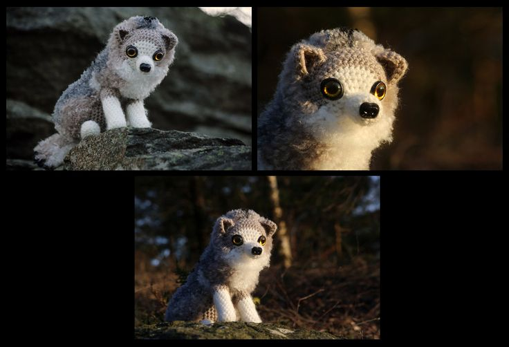 Baby Wolf Amigurumi : 1000+ ideas about Crochet Wolf on Pinterest Amigurumi ...