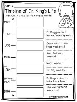 Everything you need to teach your primary students about Dr. King!  DR. MARTIN LUTHER KING, JR. ACTIVITY PACK - TeachersPayTeachers.com