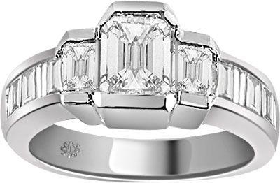 2.24 Carat Emily Diamond Platinum Engagement Ring
