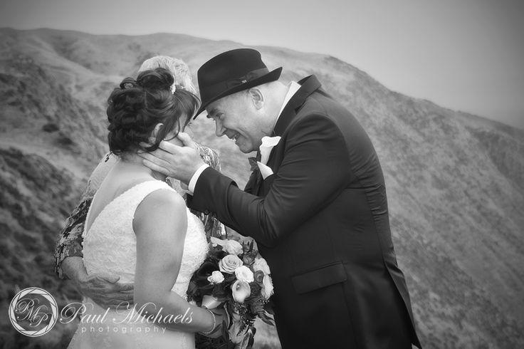 Wedding ceremony at Boomrock.