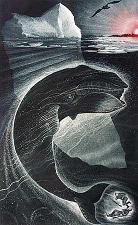 David Blackwood, etching, aquatint